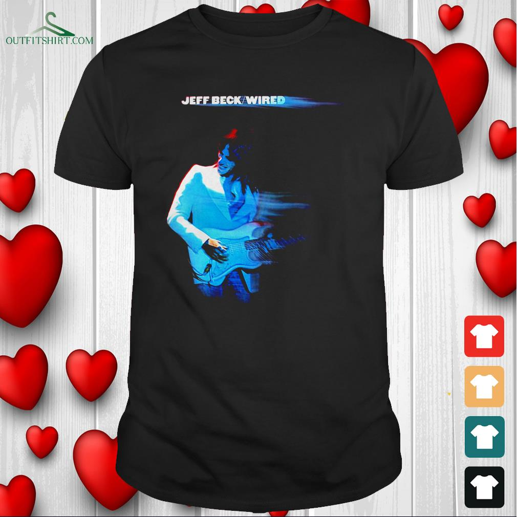 jeff beck wired t shirt