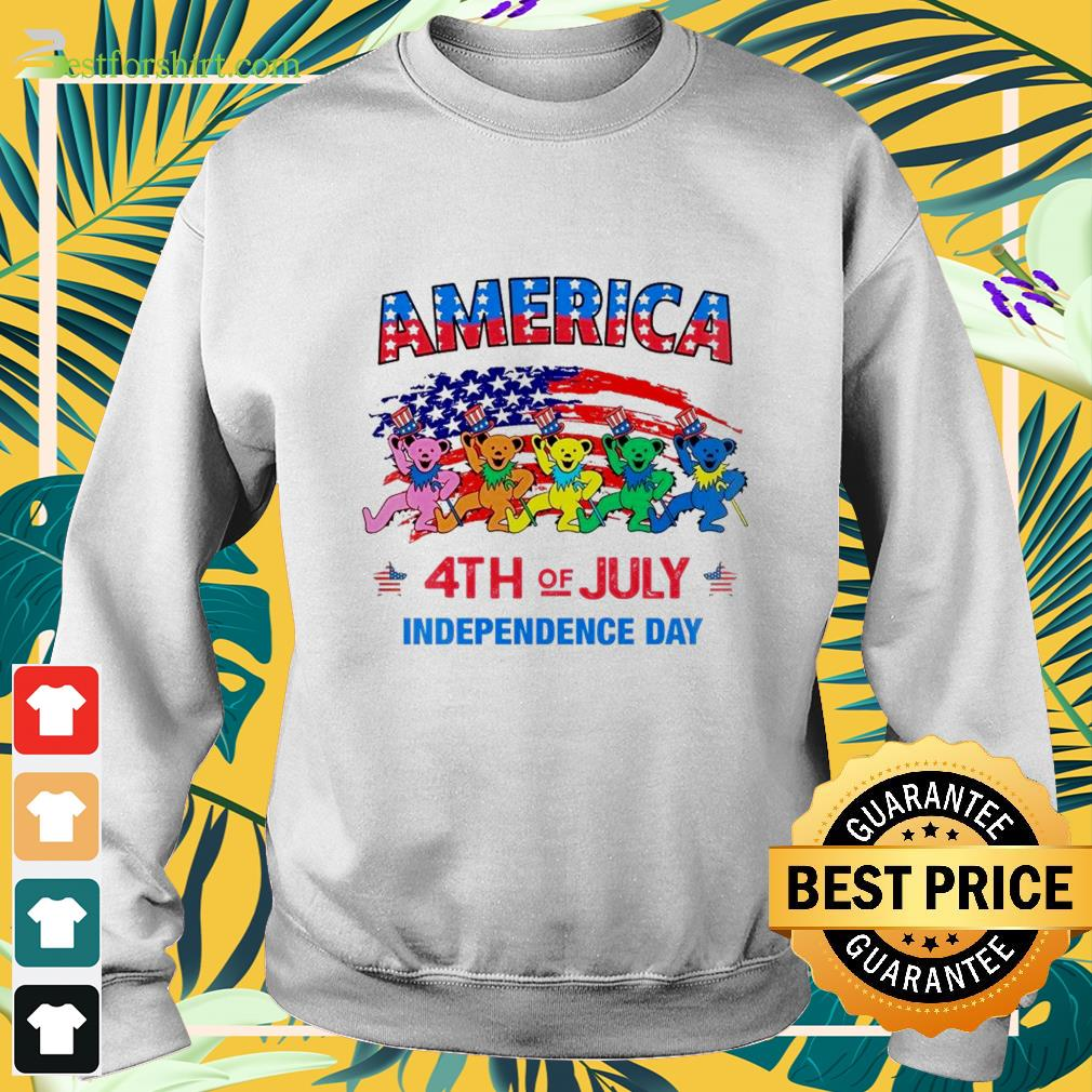 America 4th of July Independence Day Sweater