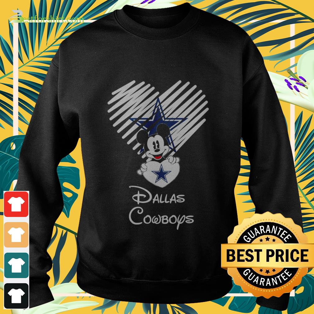 Mickey Mouse Dallas Cowboys Sweater