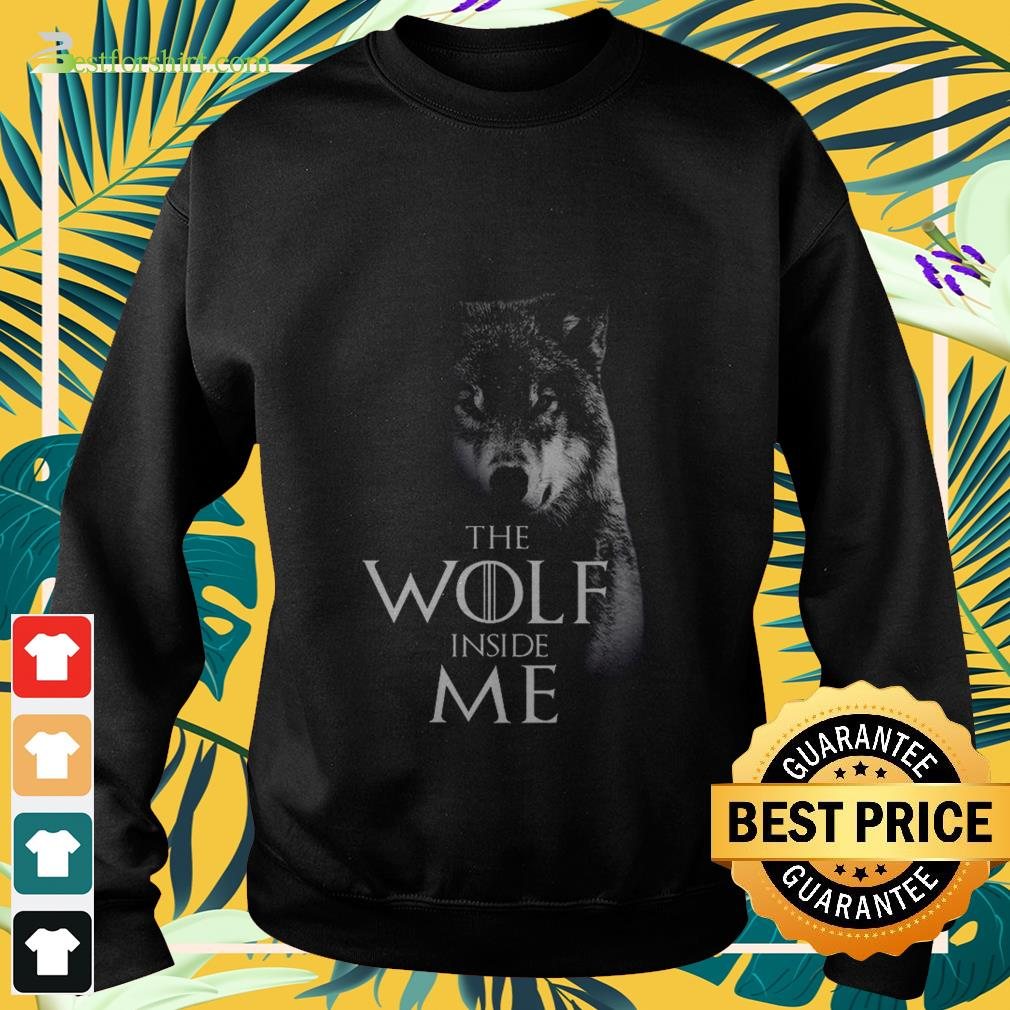 The Wolf inside me Sweater