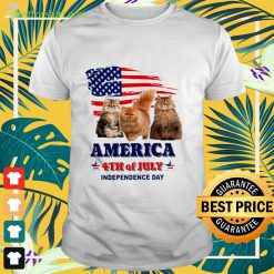 Cat America 4th of July Independence Day Shirt