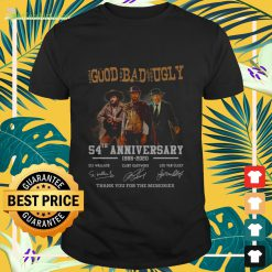 The good the bad and the ugly 54th anniversary 1966 2020 signature thank you Shirt