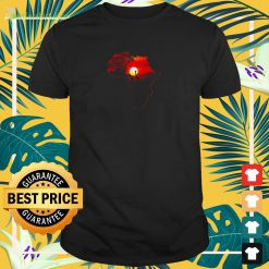 Africa Map Of Africa South African Big Fiv t-shirt