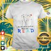 Dandelion Oh the places you'll go when you read t-shirt