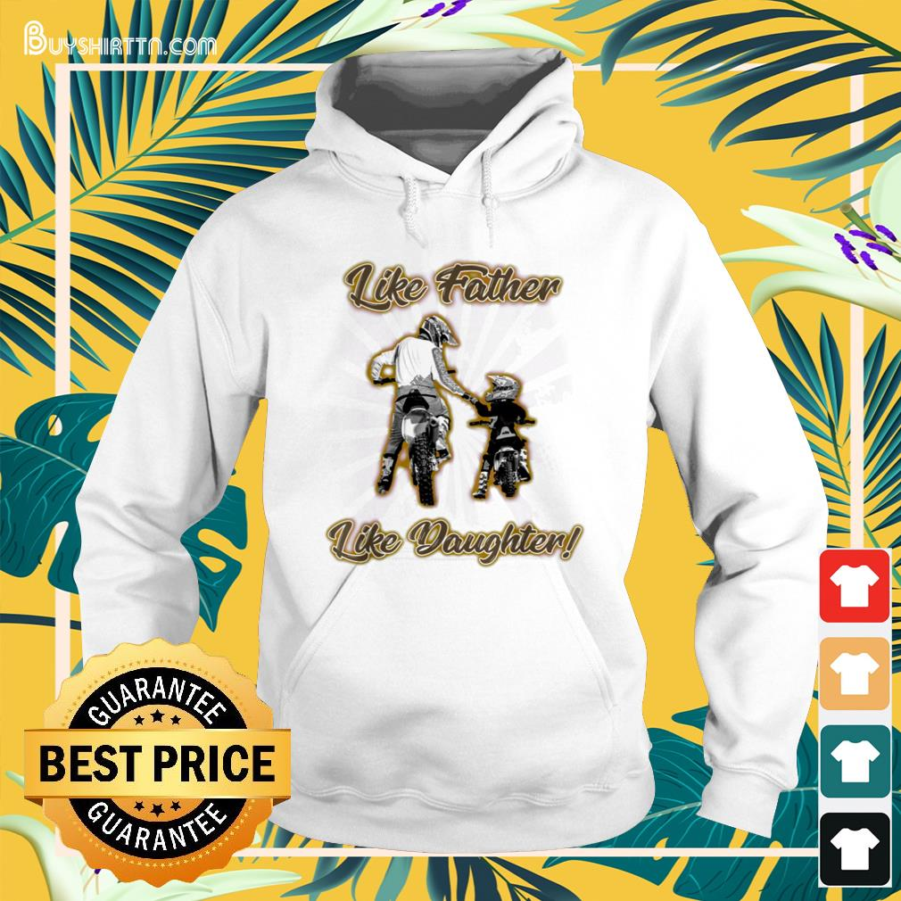Like father like daughter Father's Day Hoodie
