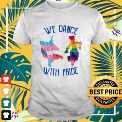 LGBTQ Native we dance with pride shirt