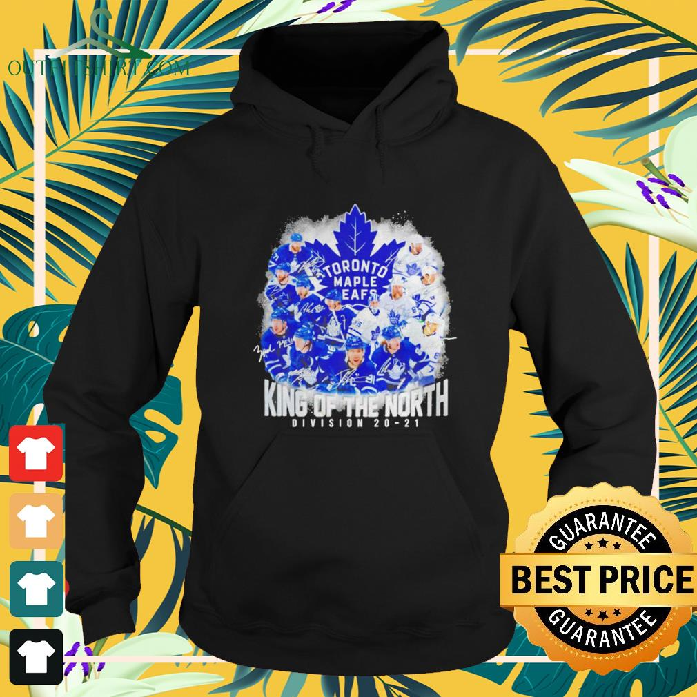 Toronto Maple Leafs King of the North Division 20-21 signature hoodie