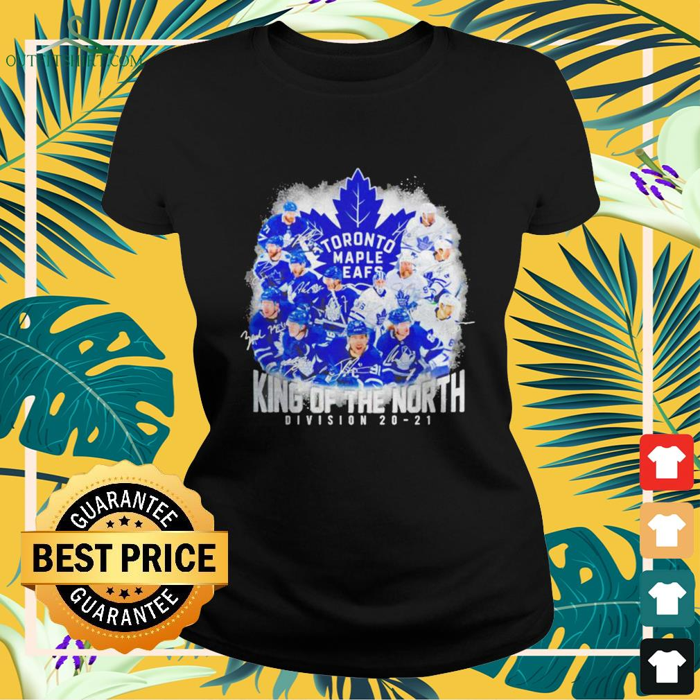 Toronto Maple Leafs King of the North Division 20-21 signature ladies-tee
