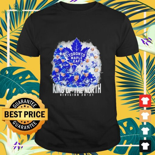 Toronto Maple Leafs King of the North Division 20-21 signature shirt