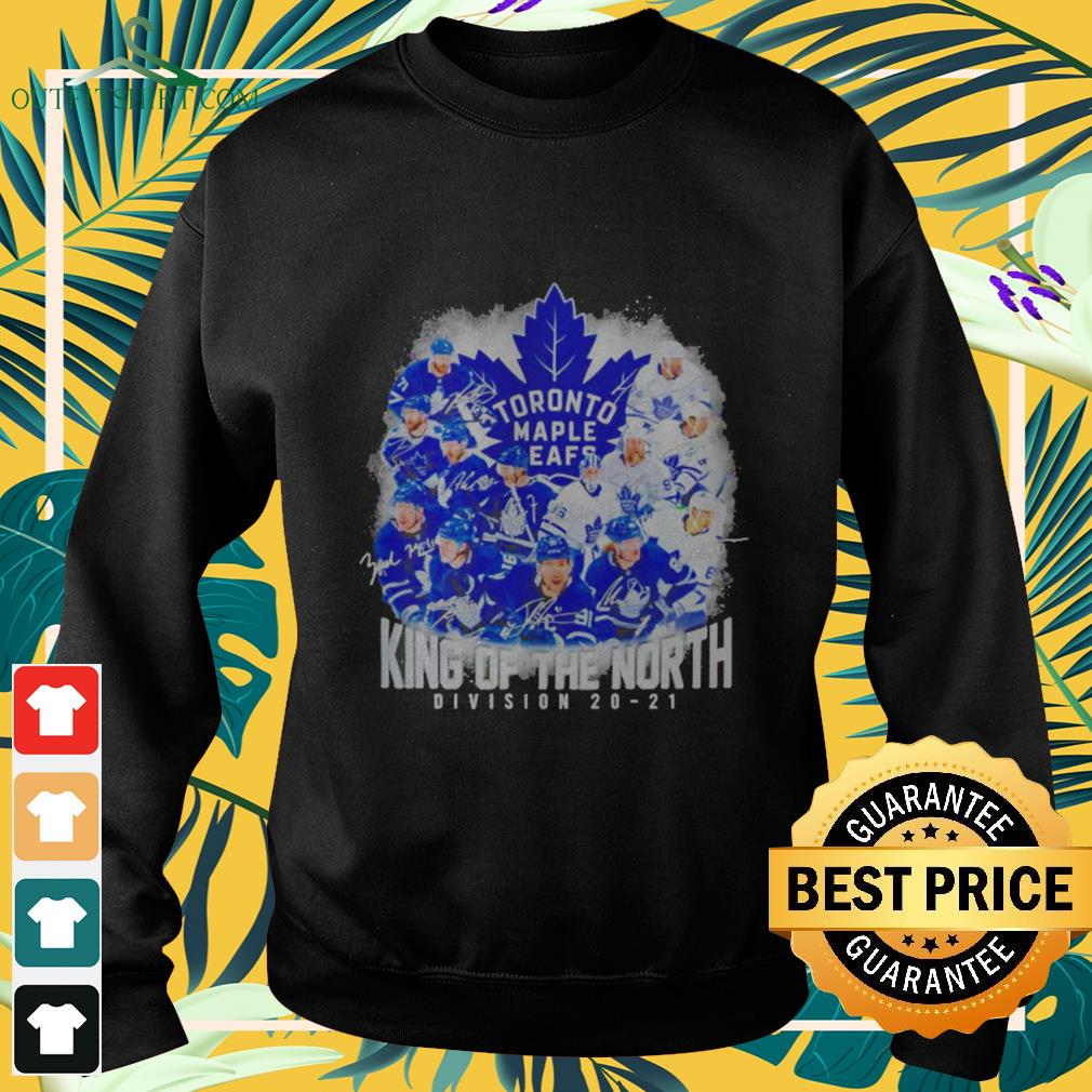Toronto Maple Leafs King of the North Division 20-21 signature sweater