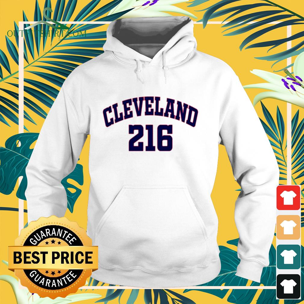 Cleveland Guardians 216 hoodie