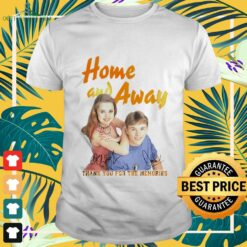 Home and away thank you for the memories signatures shirt