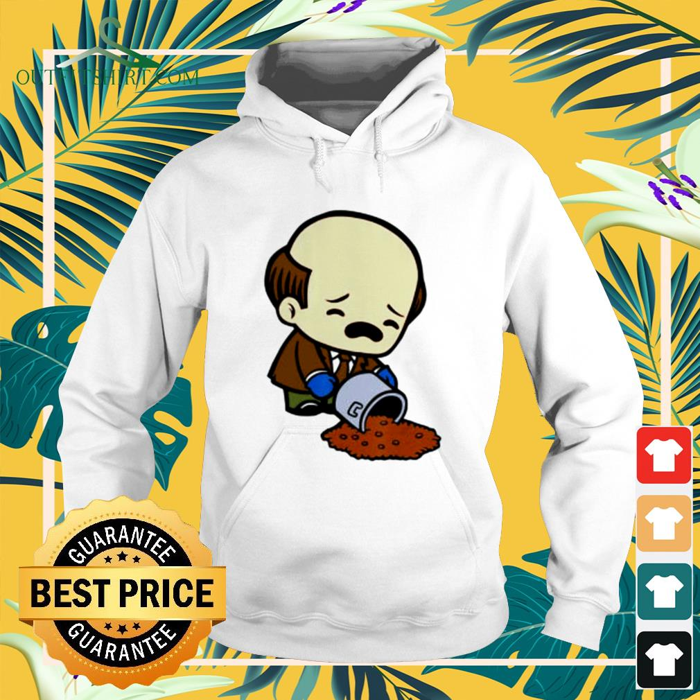 Kevin Spilling Chili Kevin Malone funny hoodie