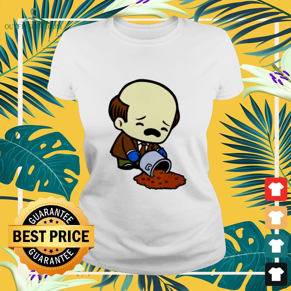 Kevin Spilling Chili Kevin Malone funny ladies-tee