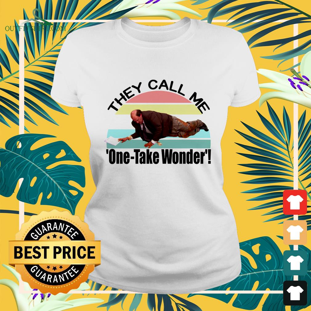 Kevin's Famous Chili they call me one-take wonder vintage ladies-tee