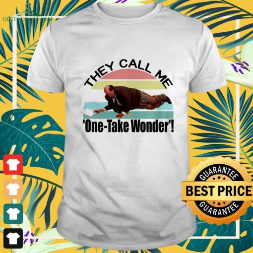 Kevin's Famous Chili they call me one-take wonder vintage shirt