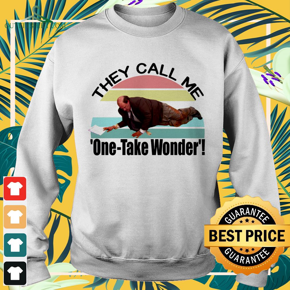 Kevin's Famous Chili they call me one-take wonder vintage sweater