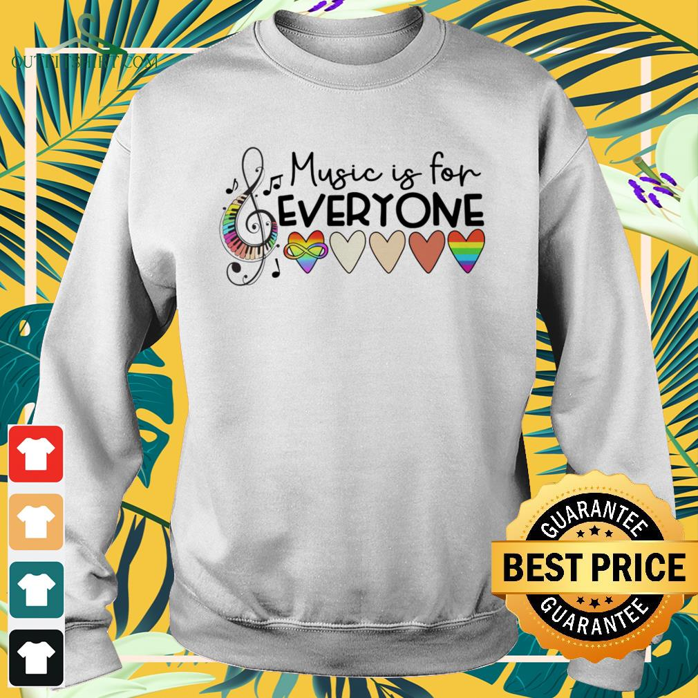Music is for everyone sweater