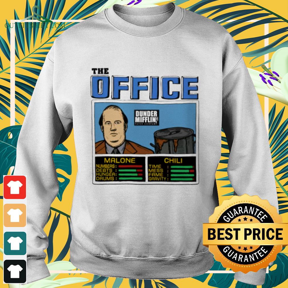 The office Kevin Malone and Chili Dunder Mifflin sweater