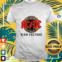 ACDC Rock and roll 1973 high voltage shirt