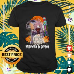 Jack Skellington and Sally Game of Thrones Halloween is coming shirt