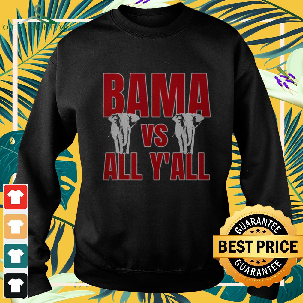 Alabama vs All Y'all The tide is Crimson sweater