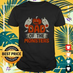 Dad of the monsters Halloween shirt