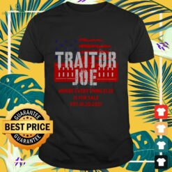 Traitor Joe's where everything else is for sale shirt